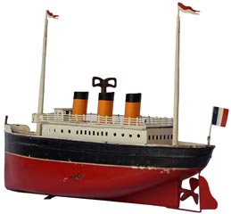 bateau 3 cheminees