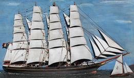 bateau 18eme siecle
