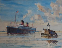 Peintres de la marine for Bernard peintre